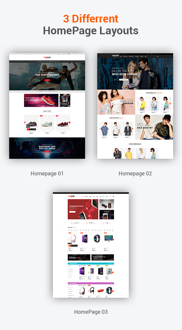 SW YourStore - WooCommerce Theme