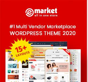 eMarket - Multi Vendor MarketPlace WooCommerce WordPress Theme