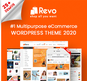 Revo - Multipurpose WooCommerce WordPress Theme