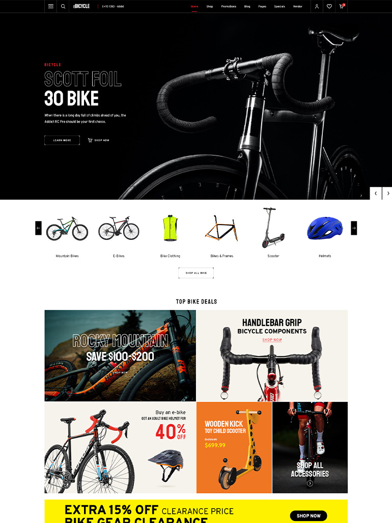 eMarket – Best Multi-Vendor MarketPlace Elementor WordPress Theme