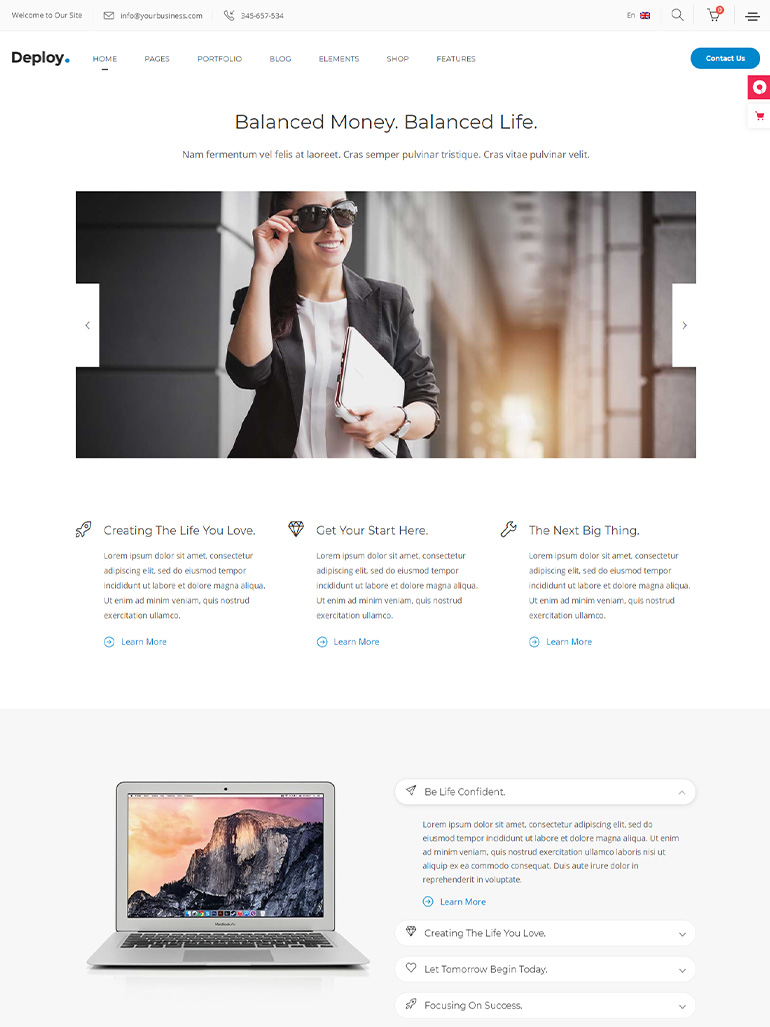 Deploy - Consulting & Business Theme