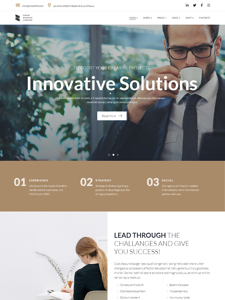 Zohar - Business Consulting
