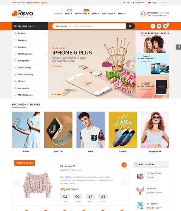 Multi-Purpose WooCommerce WordPress Theme
