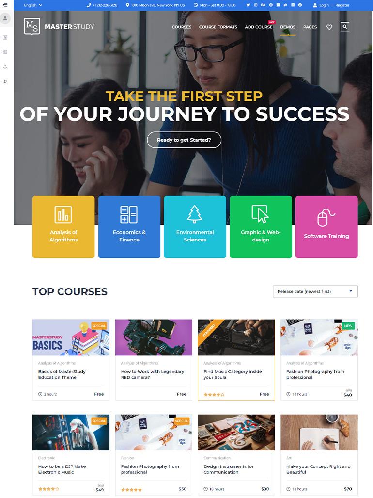 Education WordPress Theme - Masterstudy