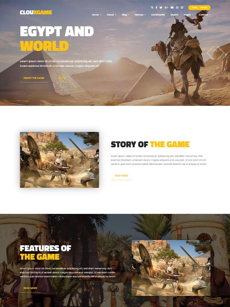 Cloux - Game & Gaming