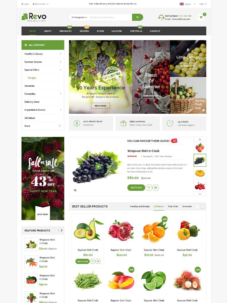 Revo - Multipurpose Elementor WooCommerce WordPress Theme