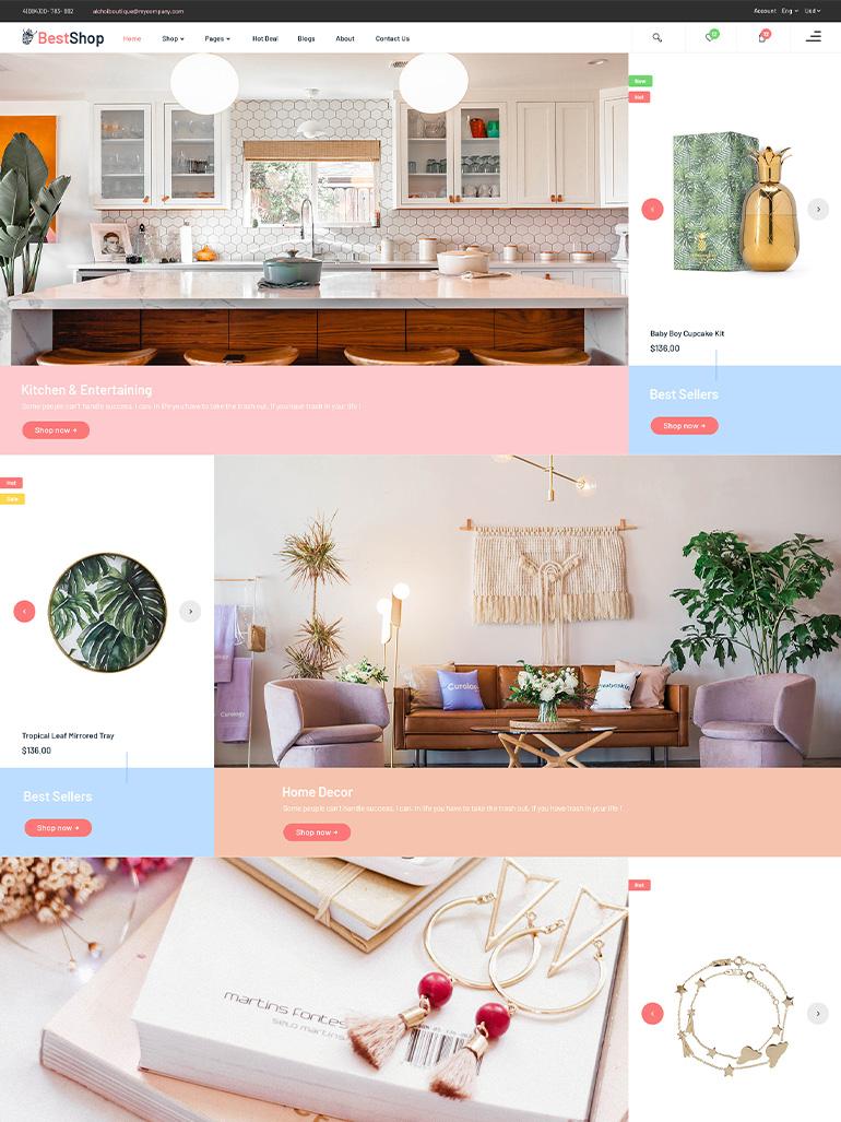 BestShop – Multi Vendor MarketPlace WooCommerce WordPress Theme