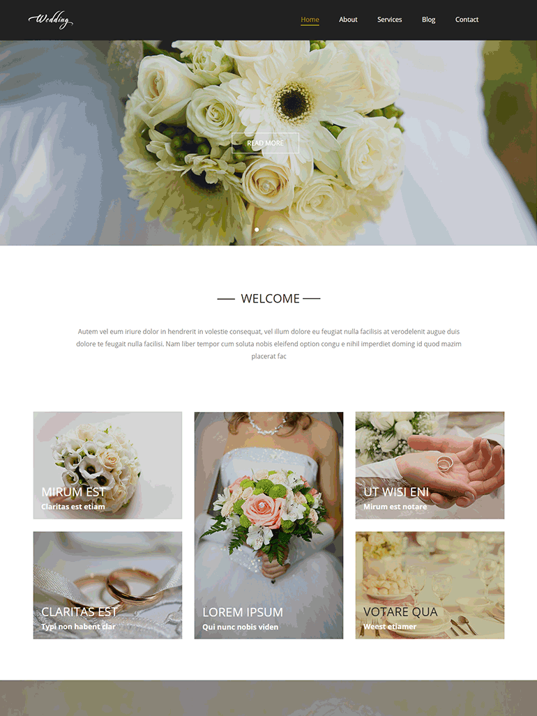 Wedding - Wedding Salon Multipurpose Modern Elementor WordPress Theme