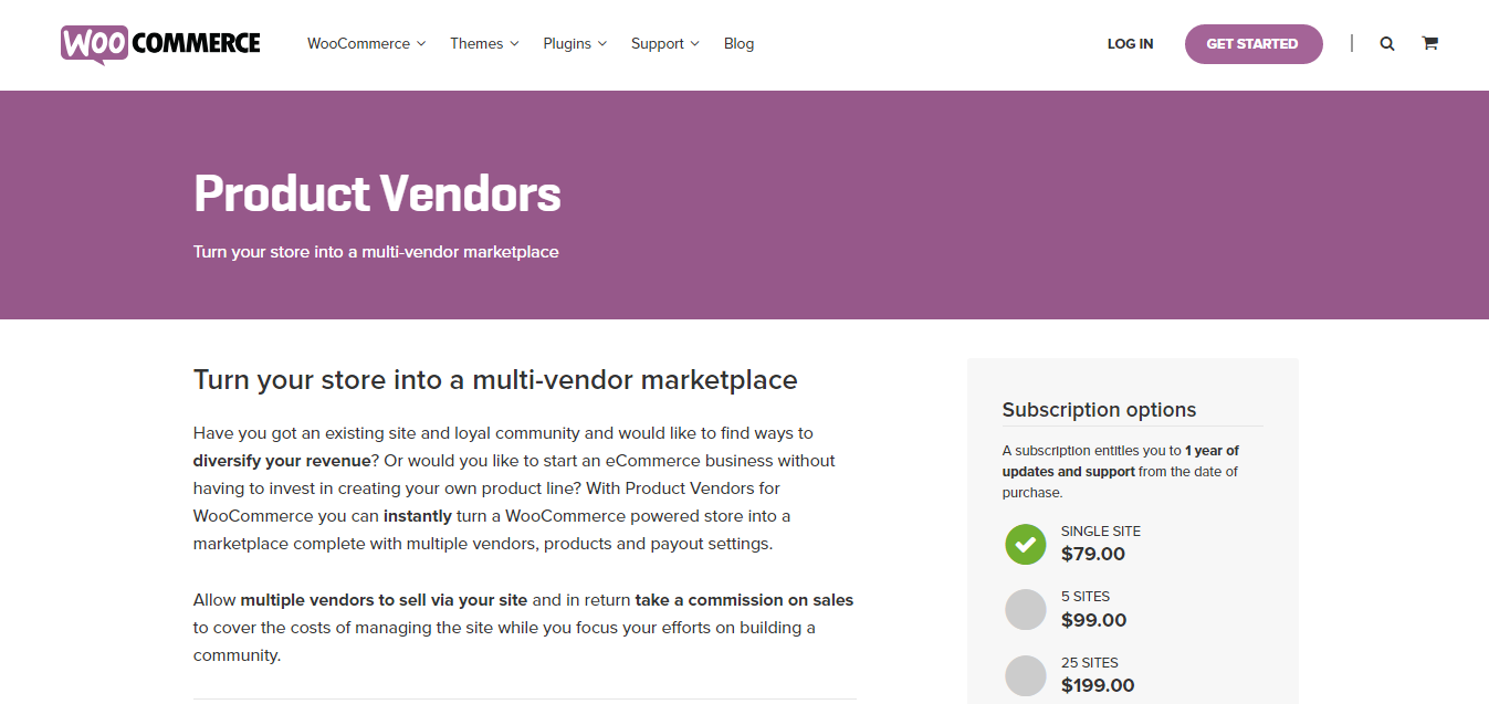 WooCommerce Product Vendor Plugin