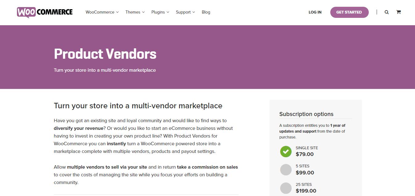 WooCommerce Product Vendor Plugin