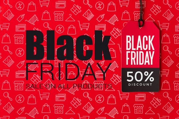 Free Black Friday Sales with Discount Banner