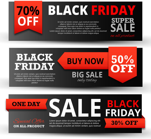 Black Friday promotion banner
