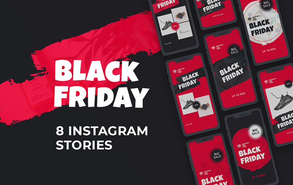 Black Friday Instagram Stories Template