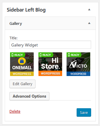 New Gallery Widget in WordPress 4.9