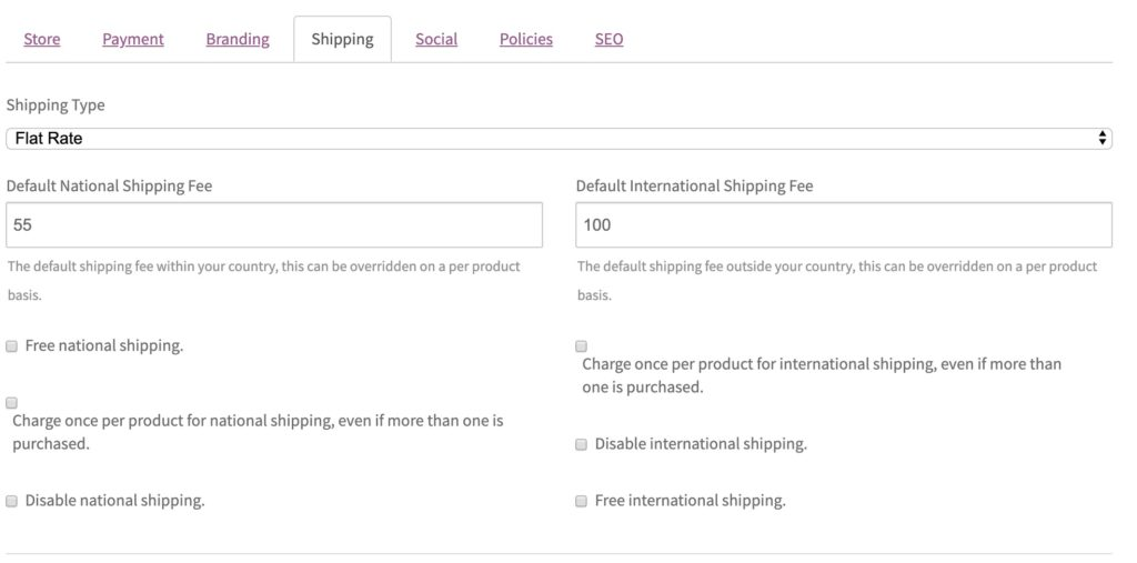Complete Shipping Solution - WC Vendors Marketplace WordPress Plugin