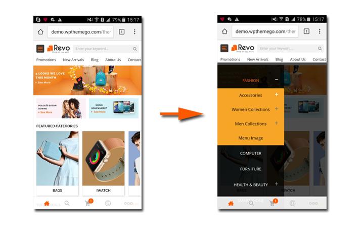 Revo Mobile-Specific Web Design Illustration