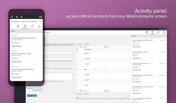 WooCommerce 4.0 - Activity