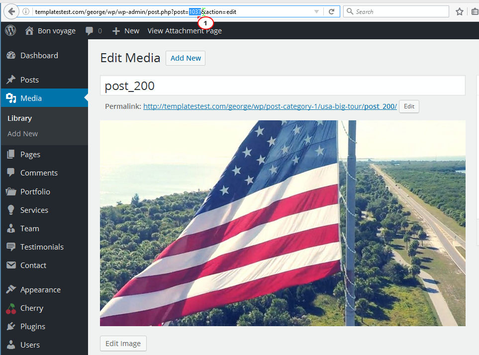 Get Image ID number from WordPress Media Library