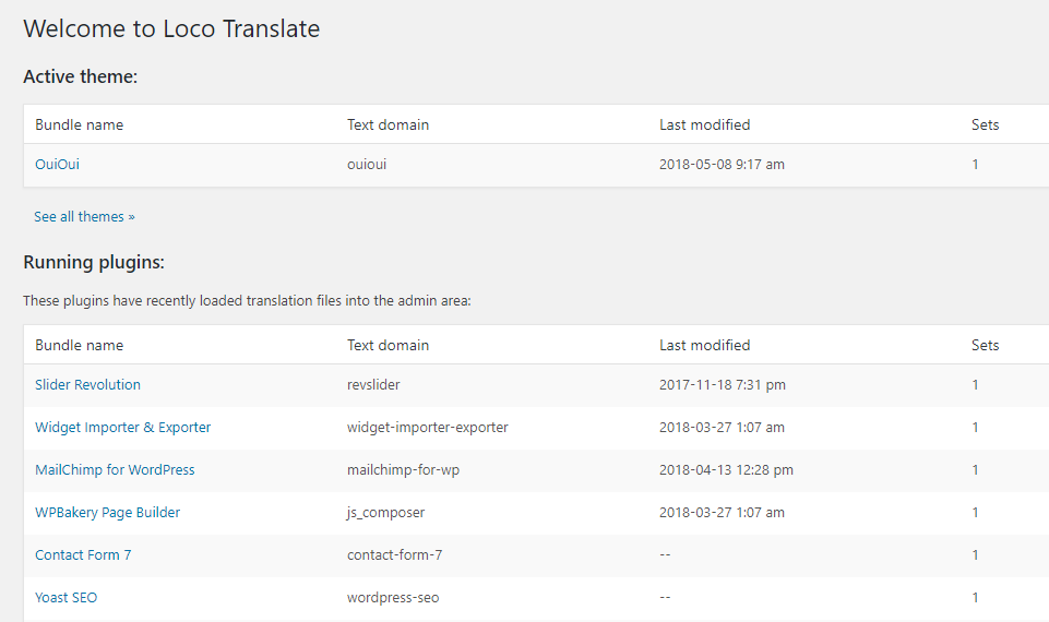 Translate WordPress with Loco Translate