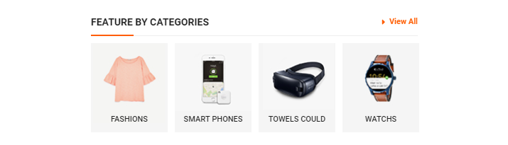SW WooCommerce Categories Slider