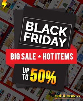 BLACK FRIDAY SALE: Up to 50% OFF on Best WordPress Themes on Themeforest