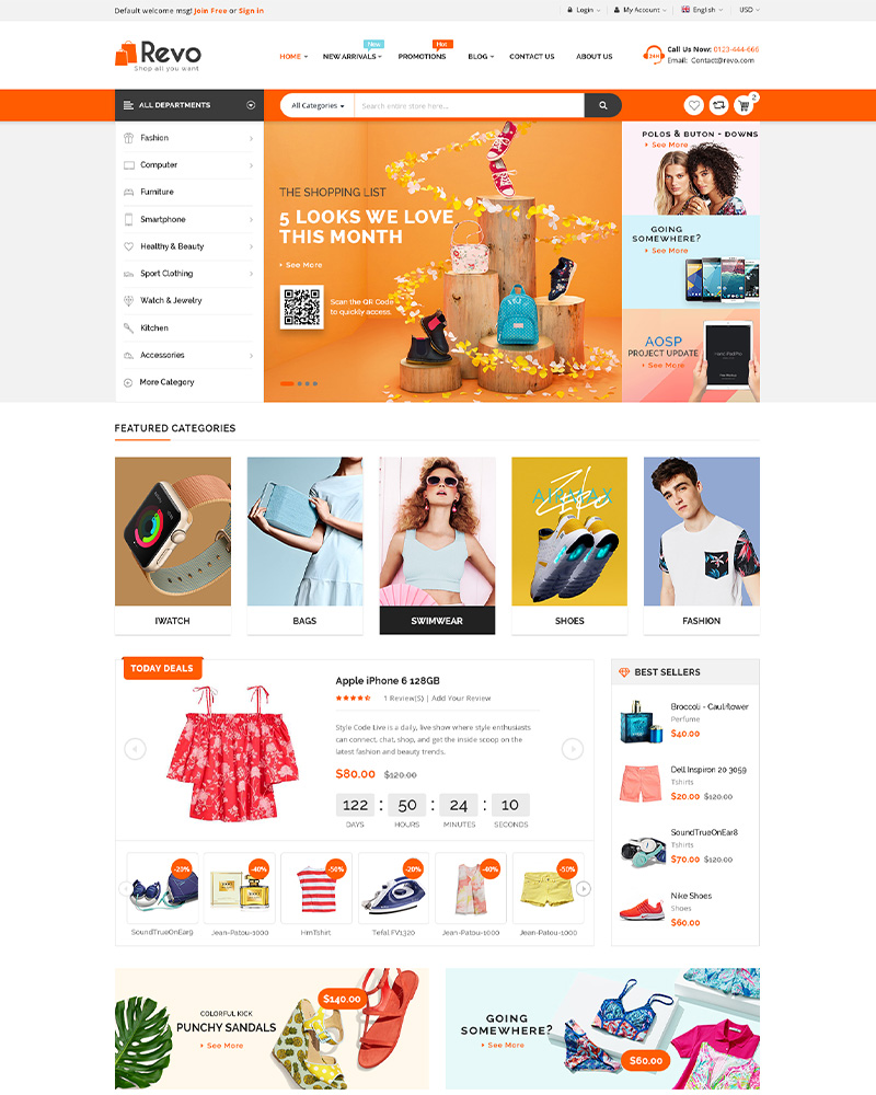 Revo - Best Selling WooCommerce Theme