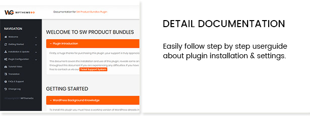 SW Product Bundles WordPress Plugin