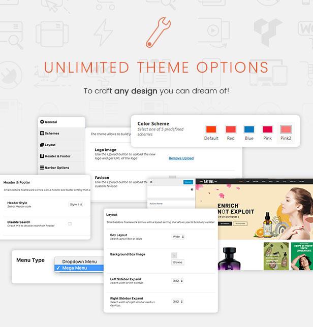 Artemi - Cosmetics Store Elementor WooCommerce WordPress Theme