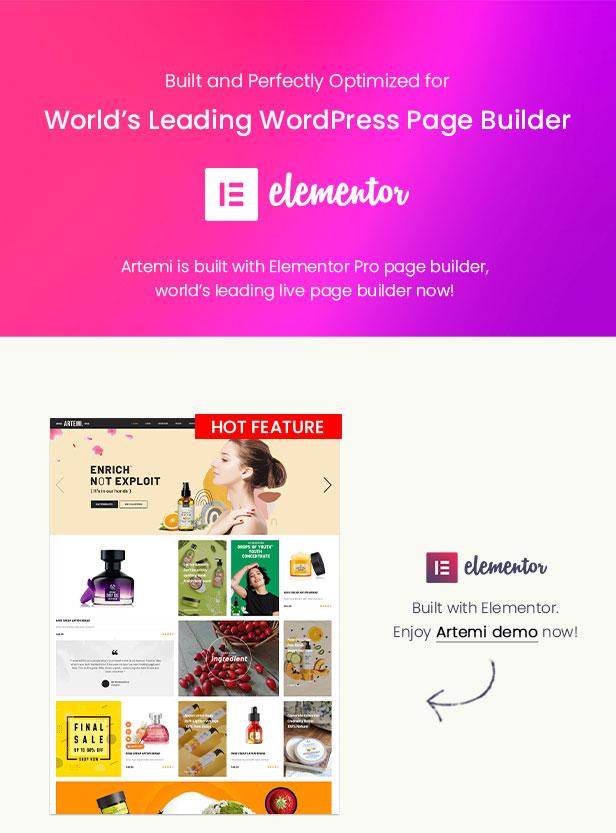 Artemi - Beauty Store WooCommerce WordPress Theme - WooCommerce Theme