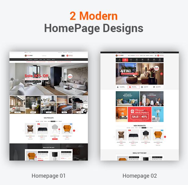 FurniHome - Furniture WordPress Theme