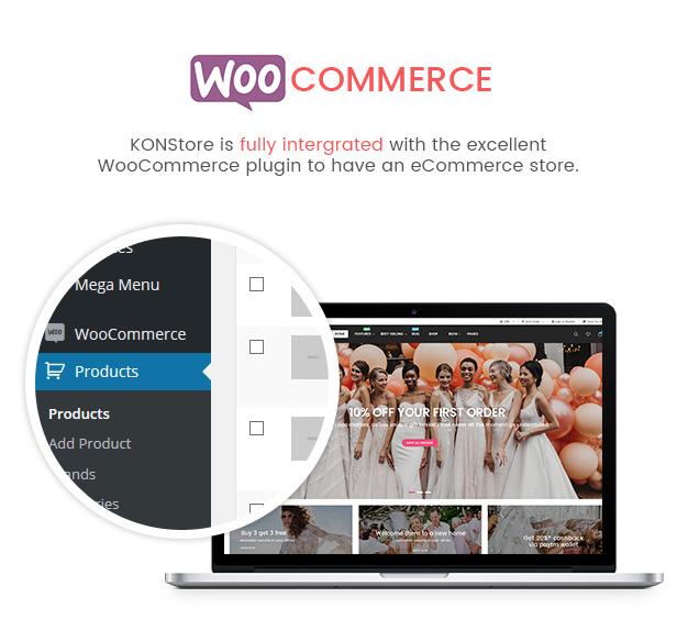 SW KONStore - WooCommerce Theme
