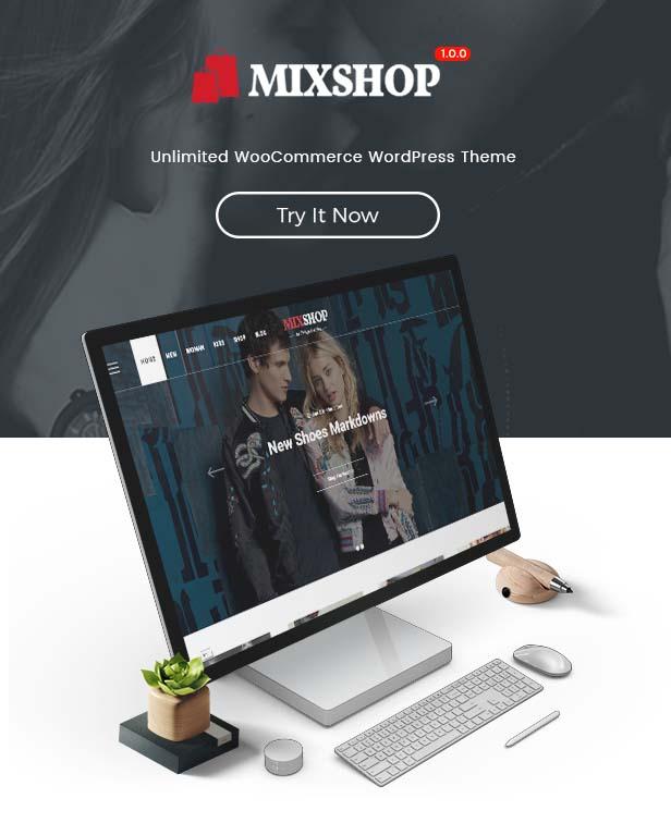 SW MixShop- WooCommerce Theme