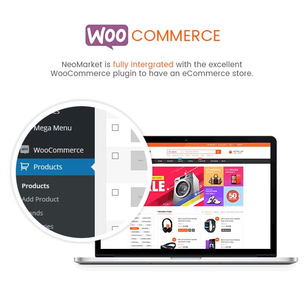 NeoMarket - Multi Vendor MarketPlace WordPress Theme