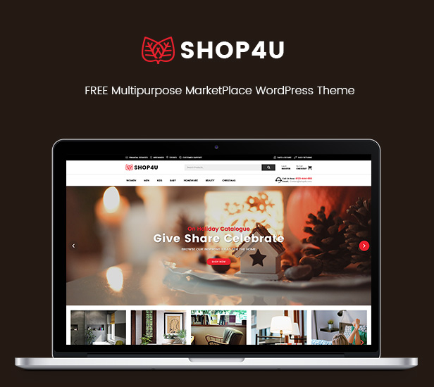 SW shop4u - WooCommerce Theme