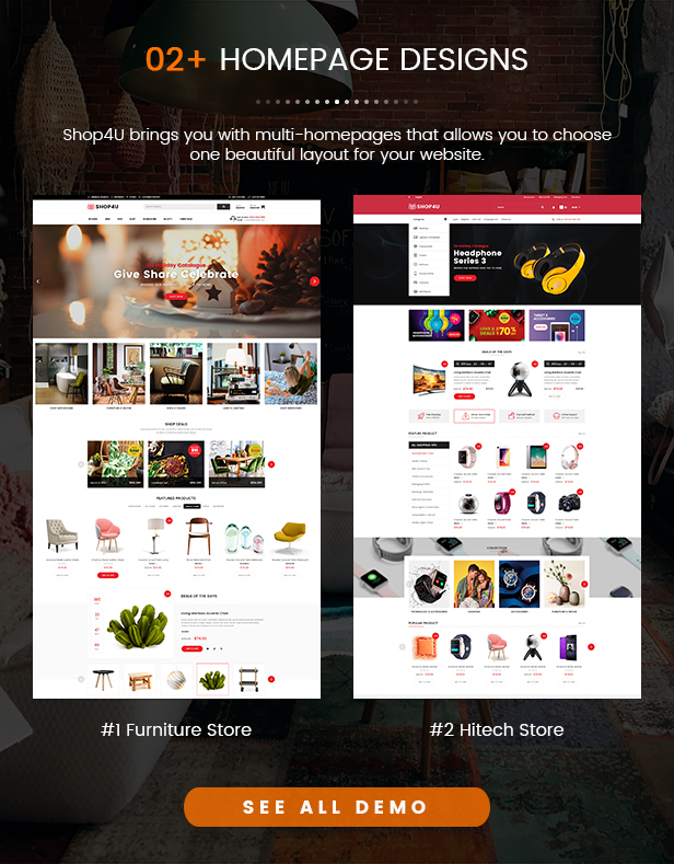 SW Shop4U - MarketPlace WordPress Theme