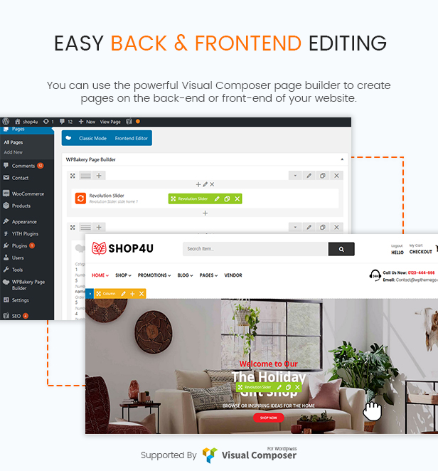 Shop4U - Free Multi Vendor MarketPlace WooCommerce WordPress Theme