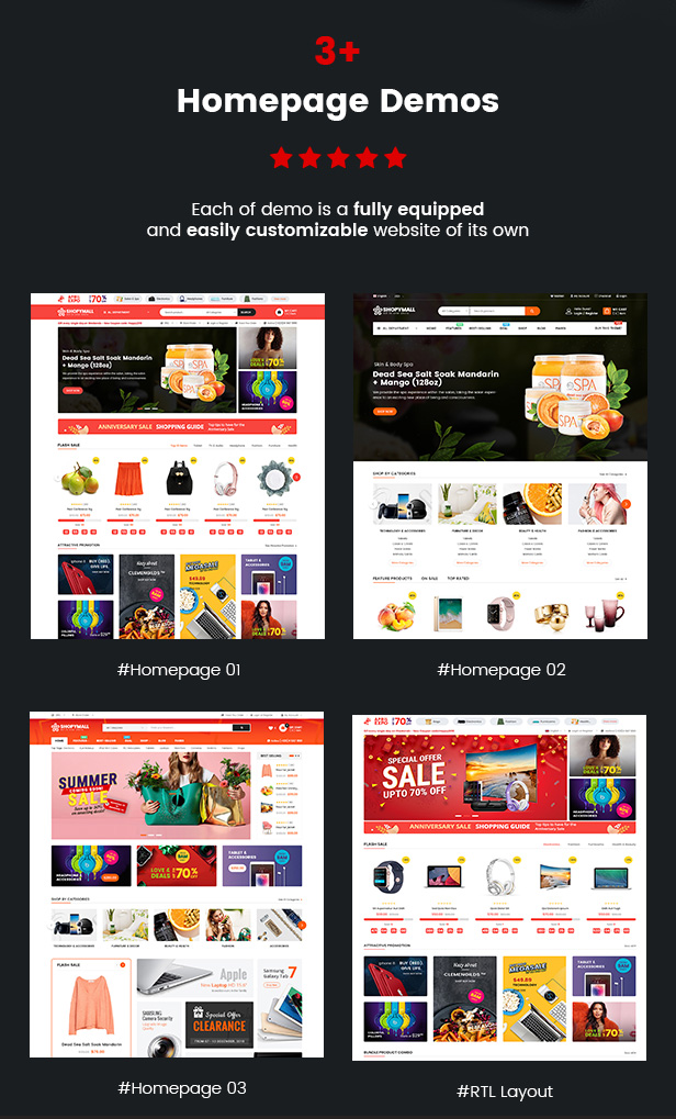 ShopyMall - Beautiful Multi-Vendor & MarketPlace WordPress Theme