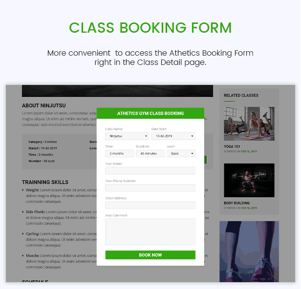 Athetics - Professional Gym Fitness WordPress Theme