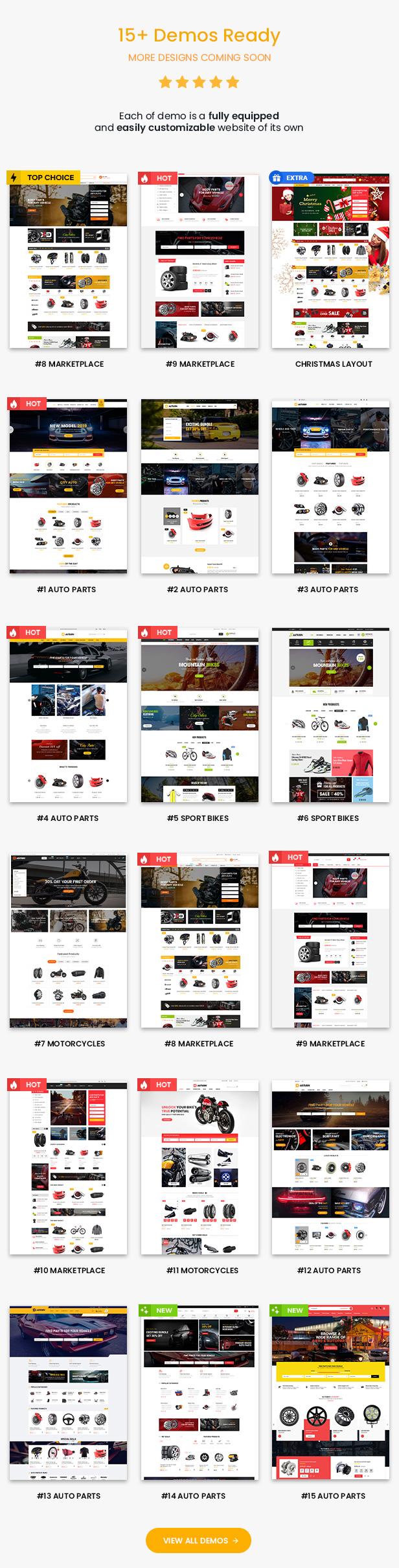 Autusin Theme Review - Auto Parts Shop, Moto Store WooCommerce WordPress Theme