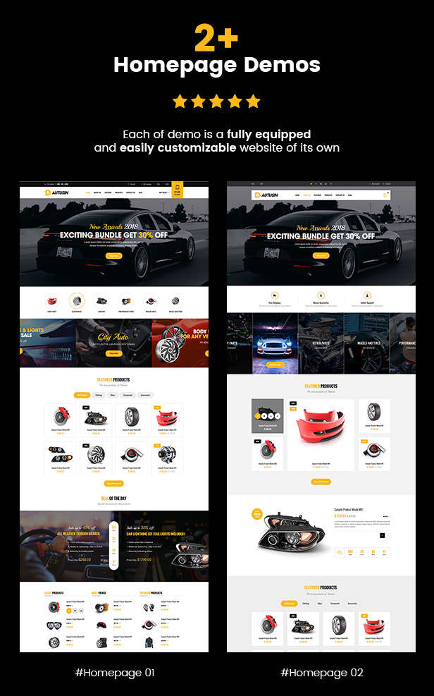 SW Autusin - WooCommerce Theme