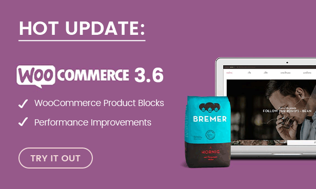 WooCommerce 3.6 Ready