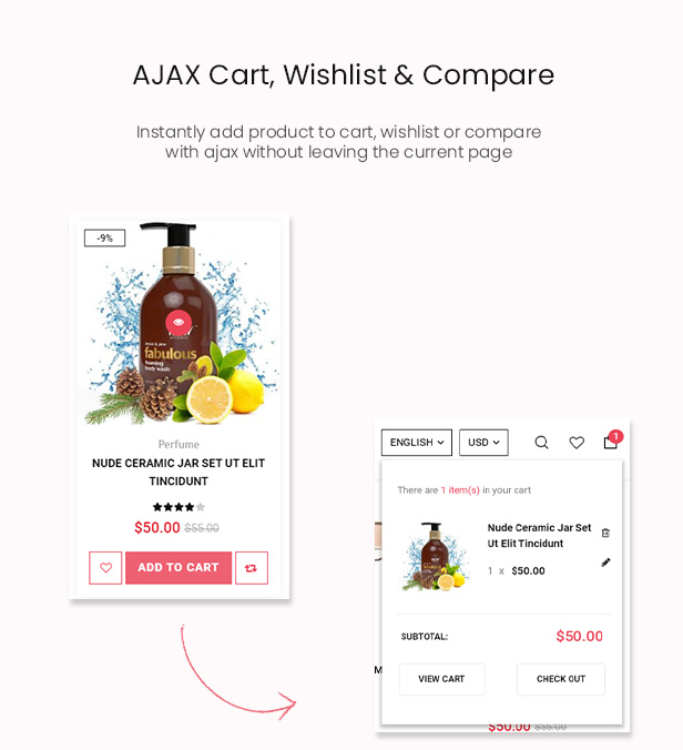 Avesa - Beauty Store WooCommerce WordPress Theme- WooCommerce Theme