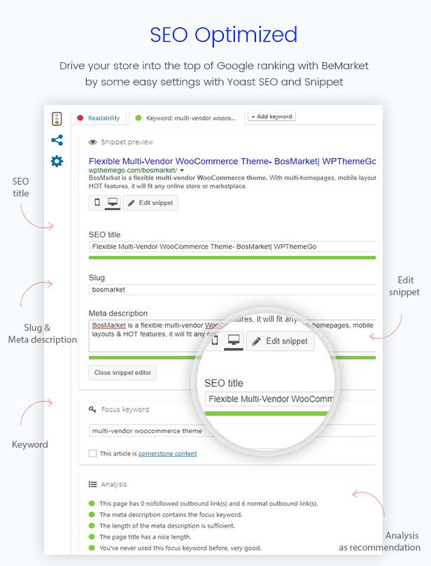 BosMarket - Flexible Multivendor WooCommerce WordPress Theme - Seo Optimized
