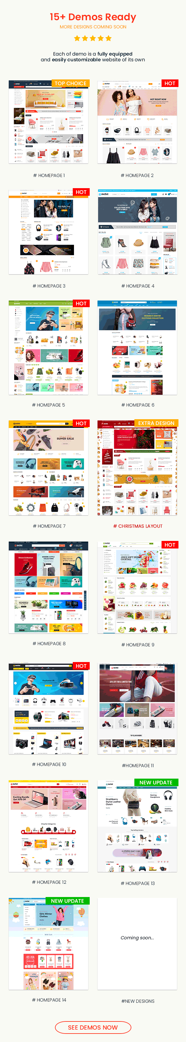 eMarket - Multi Vendor MarketPlace WordPress Theme - Elementor