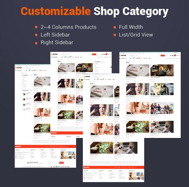 eMarket - WooCommerce Shop Theme