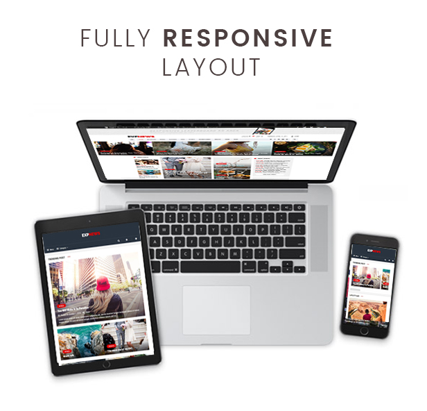 Responsive ExpNews – Newspaper and Magazine WordPress Theme