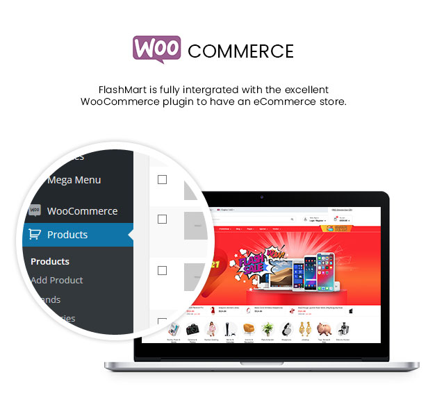 FlashMart - Multipurpose Elementor WooCommerce WordPress Theme - WooCommerce Intergration