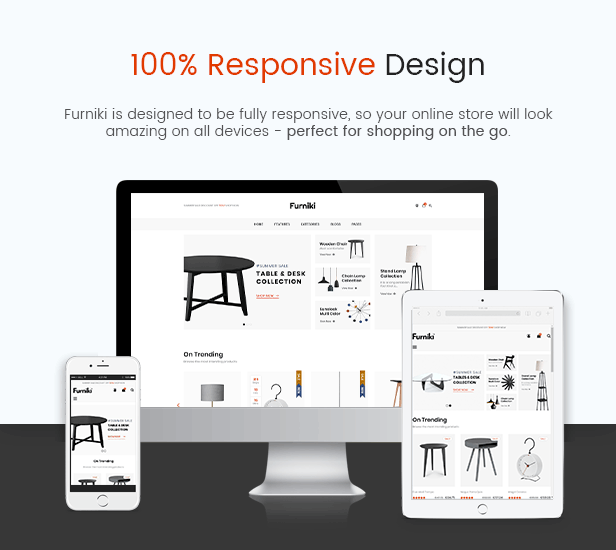 Furniki - Furniture Store & Interior Design WordPress Theme