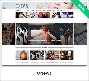 ONews - Modernes WordPress-Layout für Zeitungen und Zeitschriften