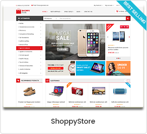 ShoppyStore - Multipurpose WordPress Theme